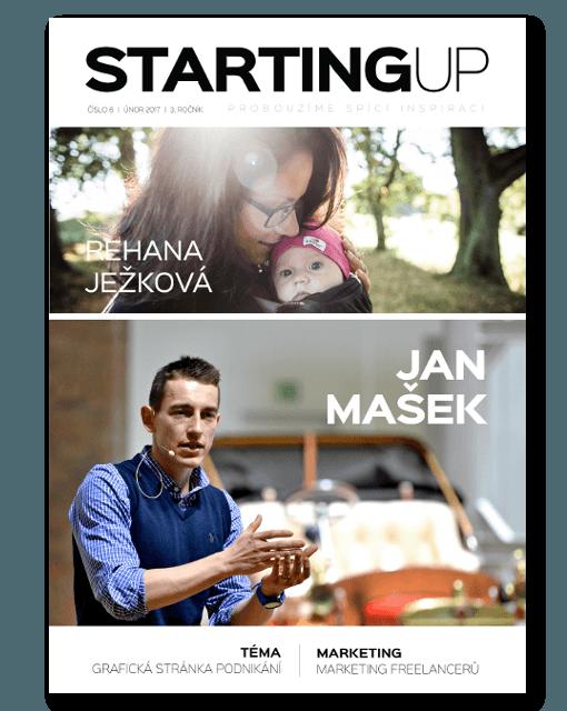 Starting UP - Titulní strana 2/2017